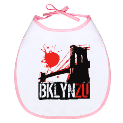 Слюнявчик Brooklyn Zu