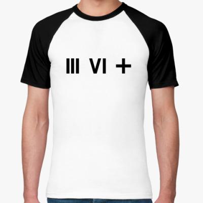 Футболка реглан   (III VI +)