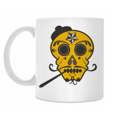 Кружка mexican skull