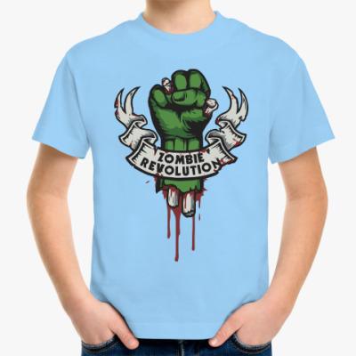 Детская футболка Революция Зомби