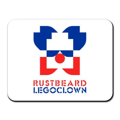 Коврик для мыши rustbeard legoclown