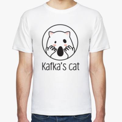 Футболка Kafka's cat