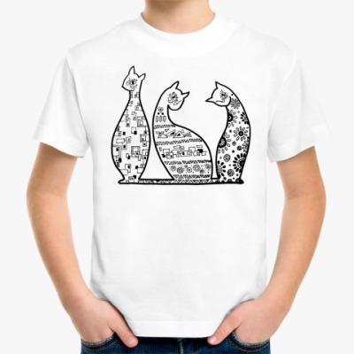 Детская футболка Кошечка