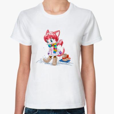 Классическая футболка 'Клубничка'