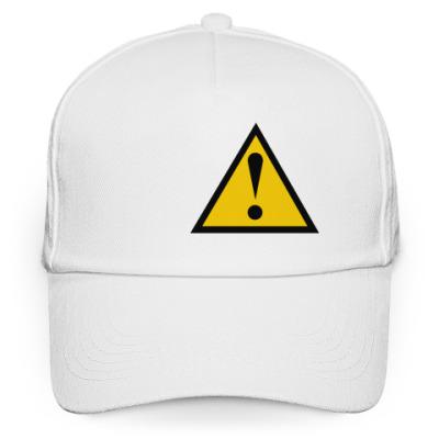 Кепка бейсболка caution (предостережение)