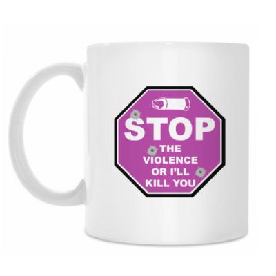 Кружка Stop The Violence кружка