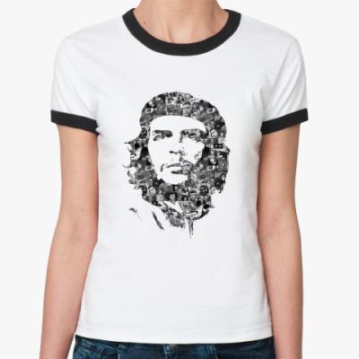 Женская футболка Ringer-T hasta siempre comandante