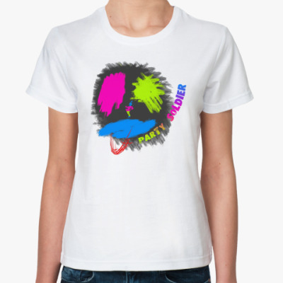 Классическая футболка Party Soldier