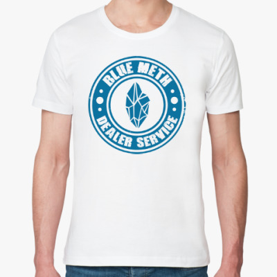 Футболка из органик-хлопка Blue Meth Dealer
