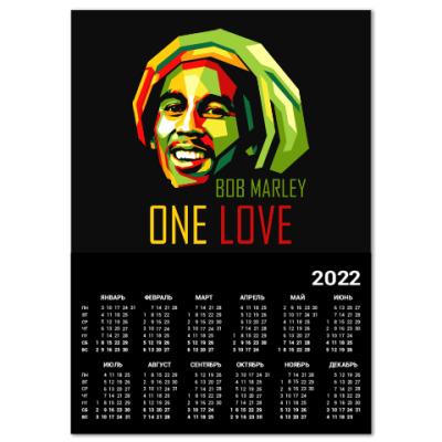Календарь Боб Марли