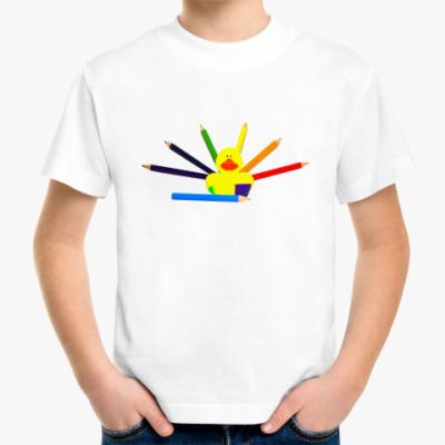 Детская футболка  для юного художника