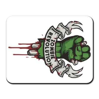 Коврик для мыши Революция Зомби