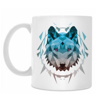 Кружка Геометрический Волк