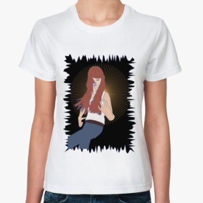 Классическая футболка воображаемая музыкальная игра