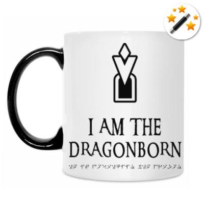 Кружка-хамелеон Dragonborn Skyrim
