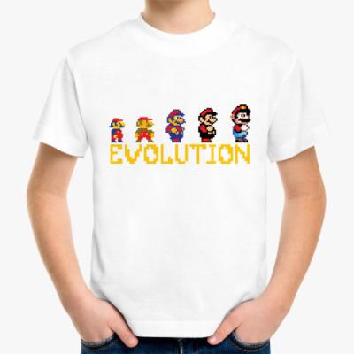 Детская футболка Super Mario