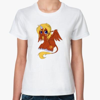 Классическая футболка Солнечный Юник