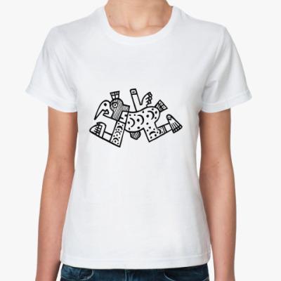 Классическая футболка  'Клювокрыл'