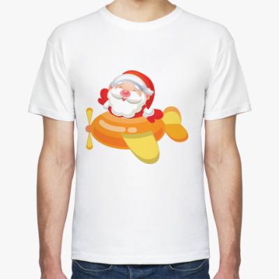 Футболка Дед Мороз к нам мчится