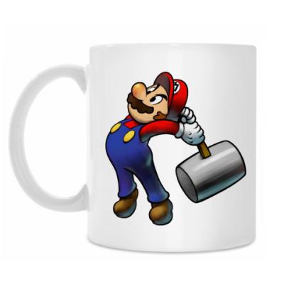 Кружка Марио бъет тебя по пальцам