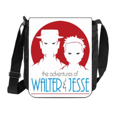 Сумка на плечо (мини-планшет) Уолтер и Джесси