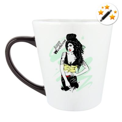 Кружка-хамелеон Эми Уайнхаус - Amy Winehouse