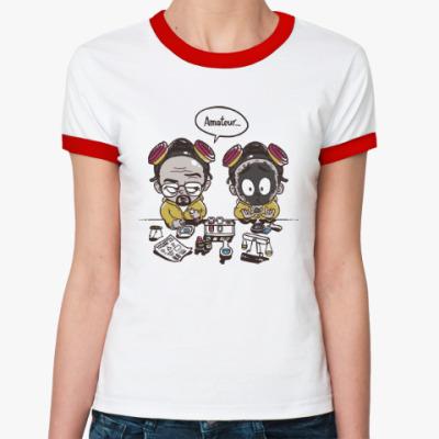 Женская футболка Ringer-T Breaking Bad - Любитель