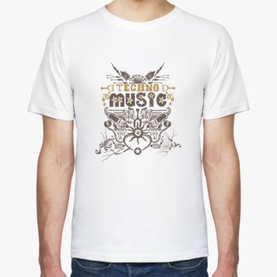 Футболка Techno Music