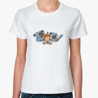 Классическая футболка 'Машенька и медведи'