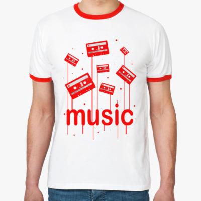 Футболка Ringer-T Music