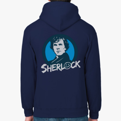 Толстовка худи Sherlock Holmes