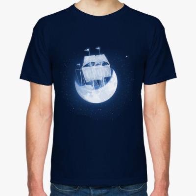 Футболка Лунный кораблик