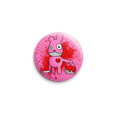 Значок 25мм pinky murder button
