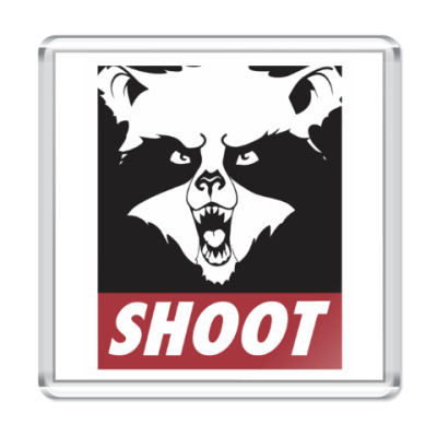 Магнит Raccoon Shoot