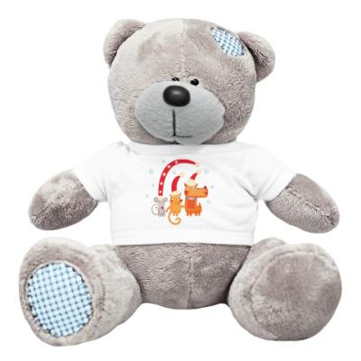 Плюшевый мишка Тедди Символ года