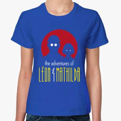 Женская футболка Леон и Матильда