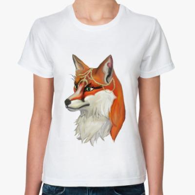 Классическая футболка Workout fox