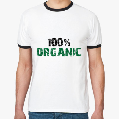 Футболка Ringer-T 100% ORGANIC