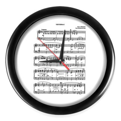 Настенные часы Beatles