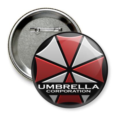 Значок 75мм Umbrella Corporation