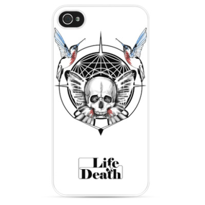 Чехол для iPhone Lefi + Death