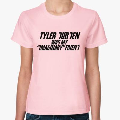 Женская футболка Fight Club Tyler Durden