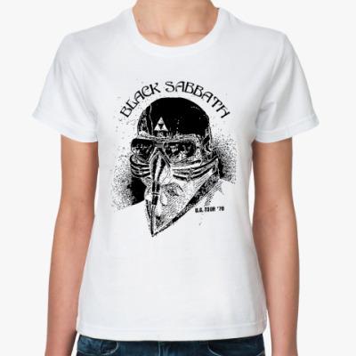 Классическая футболка Black Sabbath