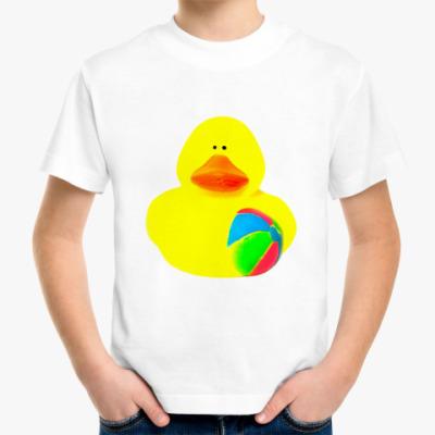 Детская футболка Уточка