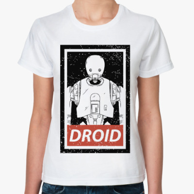 Классическая футболка K-2SO (Star Wars)