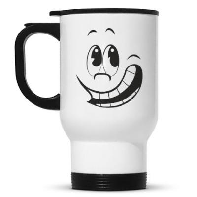 Кружка-термос  Счастливый смайл