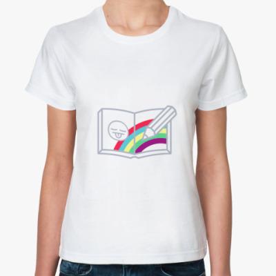 Классическая футболка Drawing