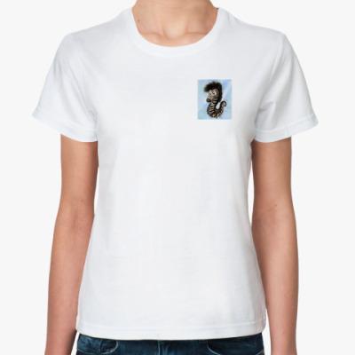 Классическая футболка Морской зебрёнок
