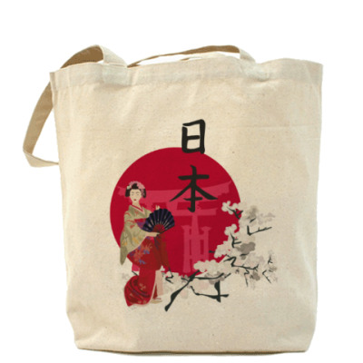 Сумка японская символика