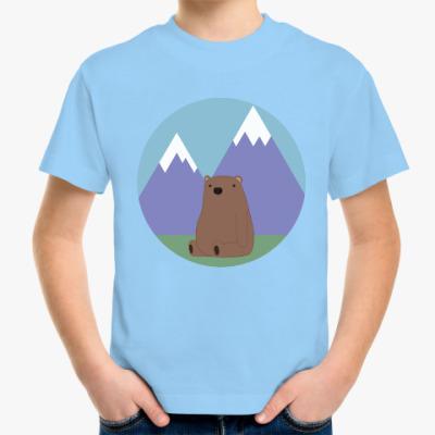 Детская футболка Медведь
